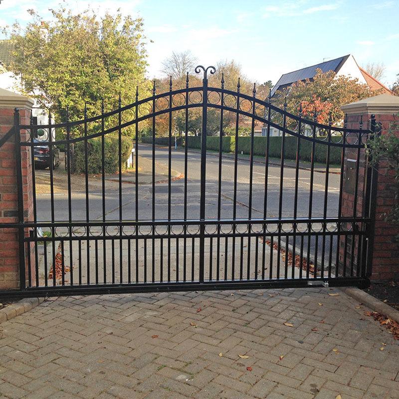 Hot sale wrought iron gate designs ITEM NO.: IR201