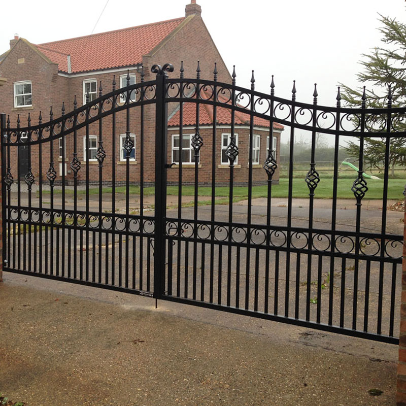 first-rate iron security doors factory price for mansion-1