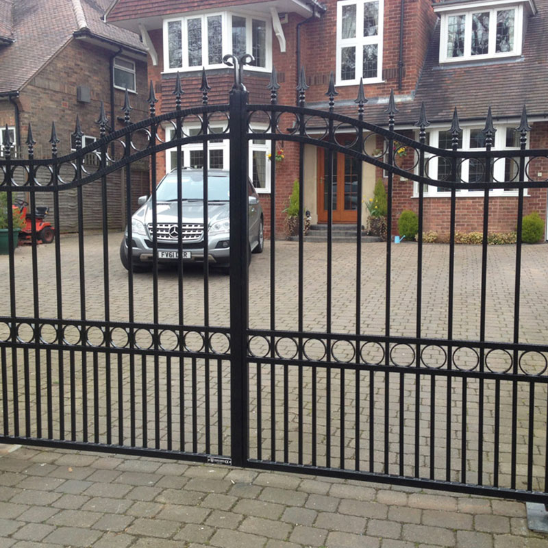 first-rate iron security doors factory price for mansion-2