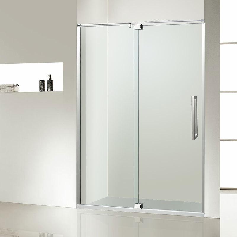 Puerta de gancho de ducha independiente de cristal prefabricado CBM -JP204