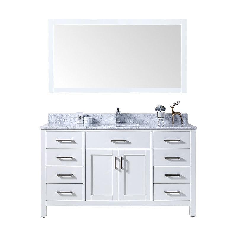 Hot sale American standard commercial bathroom cabinet furniture sets