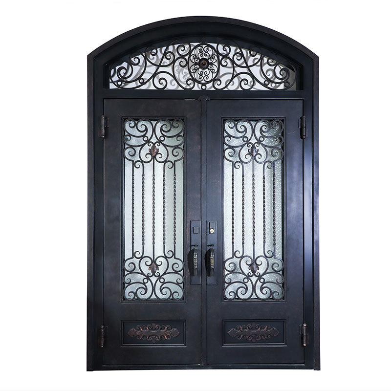 Elegant modern Iron Door