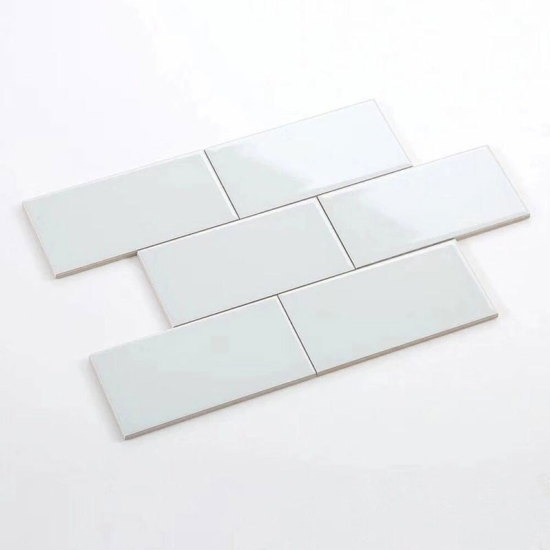 White flat wall tiles for 100x200