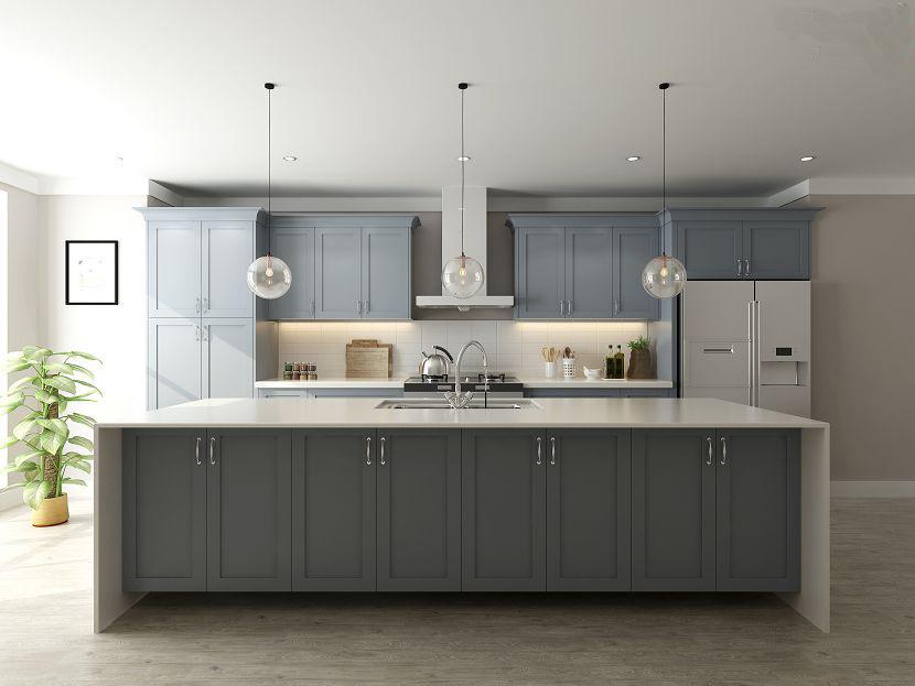 Customized Modern home furniture wood kitchen cabinet set