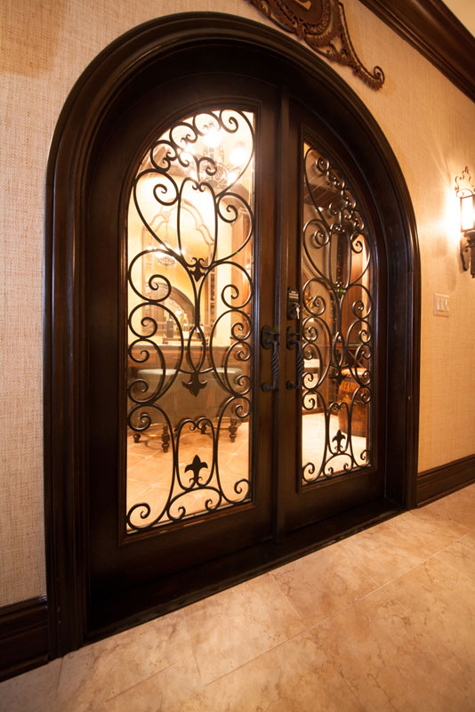 new-arrival wrought iron doors bulk production for housing-1