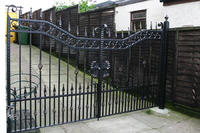 Modern House Wrought Iron Main Gates Designs Simple Gate Design