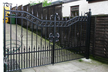 Modern House Wrought Iron Main Gates Designs Simple Gate Design