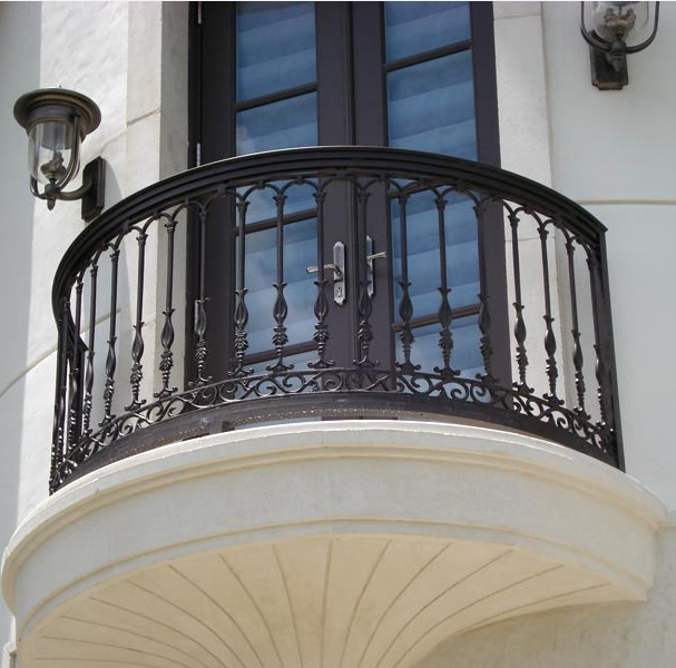 Wrought Iron Balcony Railings Designs