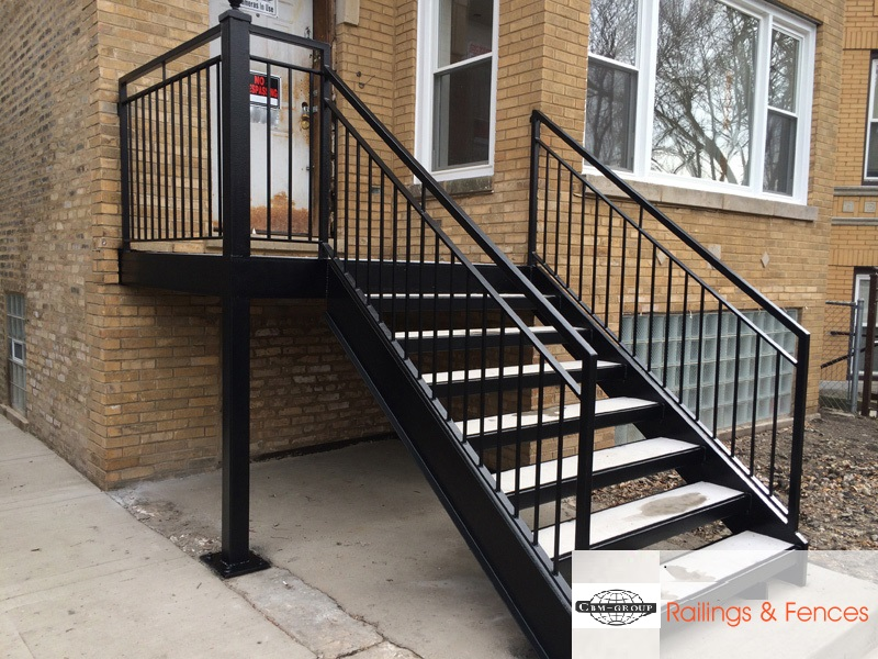 CBM wrought iron railings China supplier for flats-1