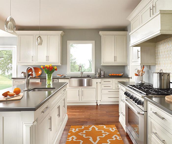 CBM dark wood kitchen cabinets manufacturer for home-1