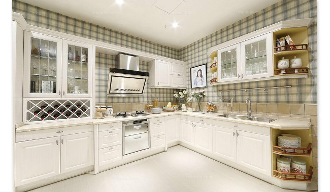 CBM fine-quality modern kitchen cabinets certifications for home-1