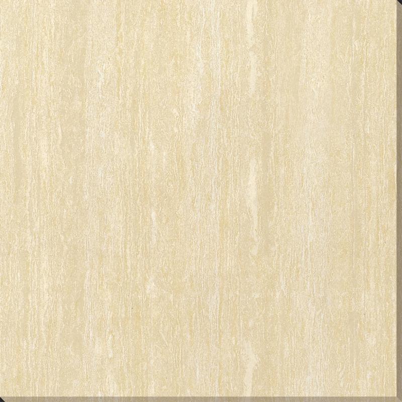 Yellow Line Stone Polished Tile 600x600