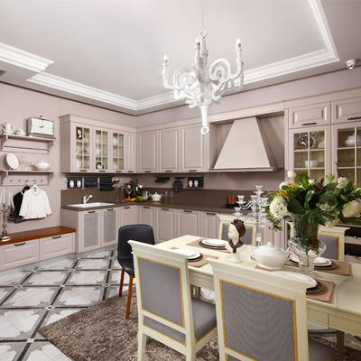PVC kitchen cabinet with mordern design  Simple Design Pvc Kitchen Cabinets - Buy Simple Design Kitchen Cabinet