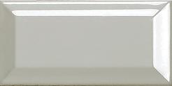 Azulejo de pared biselado gris negro blanco 3''x6 ''