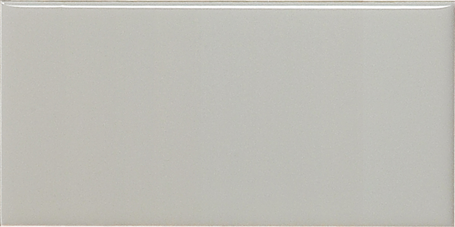 Light grey ceramic wall tile 3''x6''