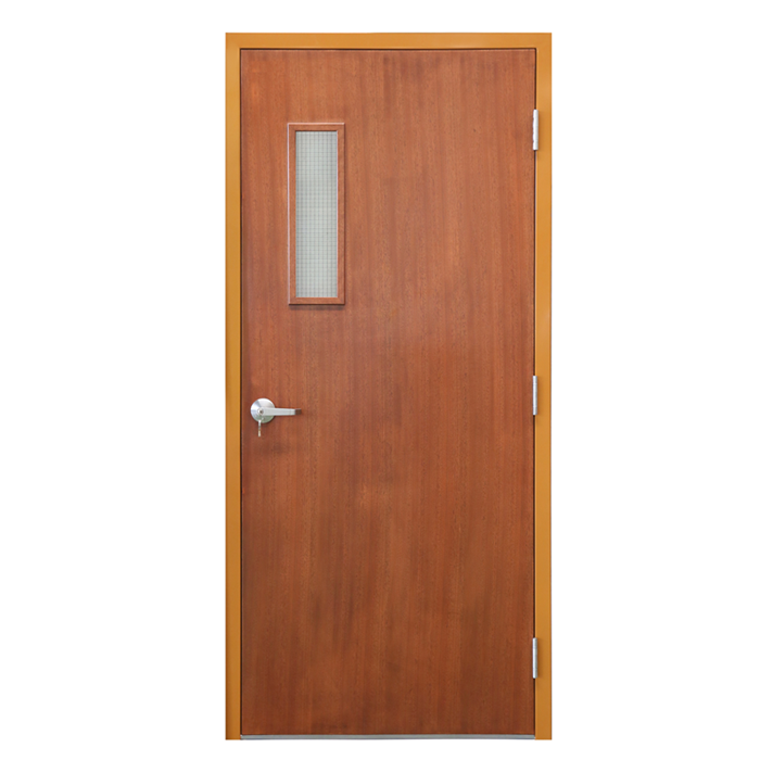 Exterior fire rated steel door fire-proof door for American market