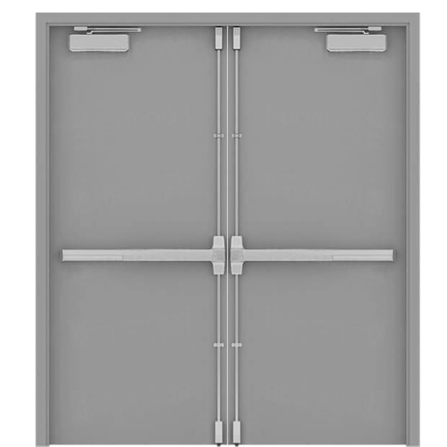 UL Listed FireProof Resistant Double Door For Hotel