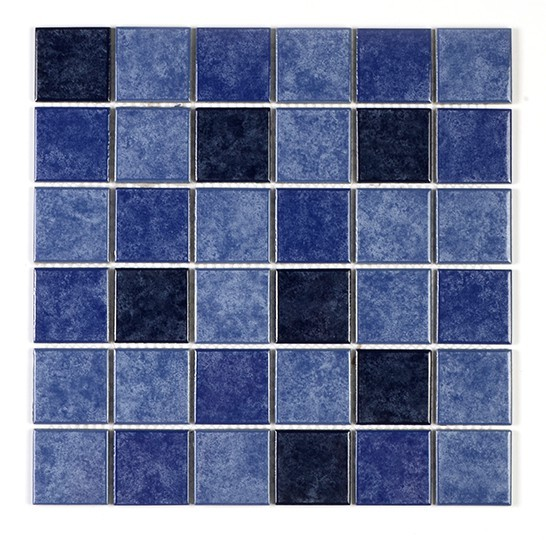 Rustic tile mix color ceramic wall tile mosaic 48x48