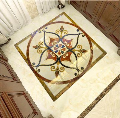 Red polished crystal carpet tiles 1800X1800