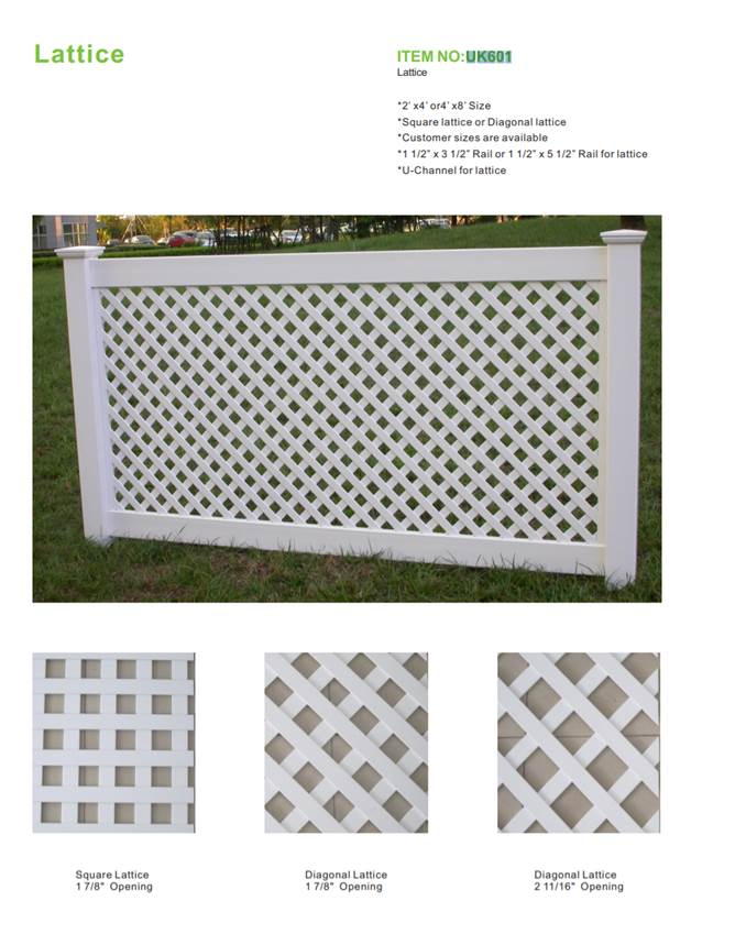 CBM durable pvc fence at discount for construstion-1