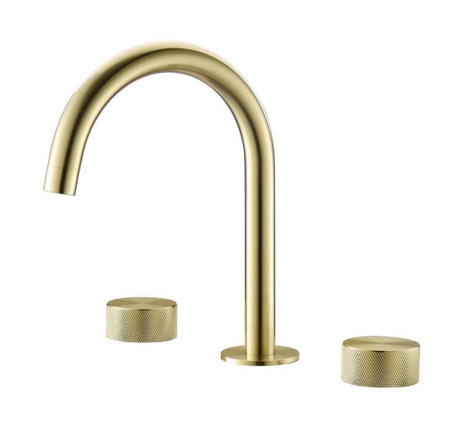 Bathroom doubles handles faucet basin faucet with different design