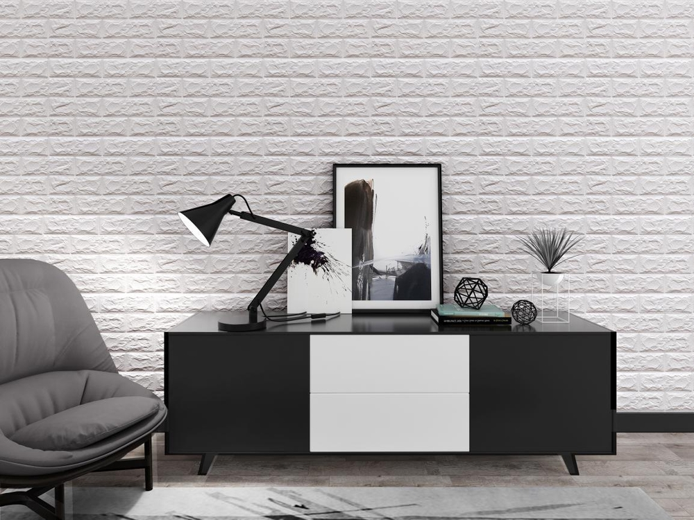 Wall brick sticker 3D effect 70x77cm
