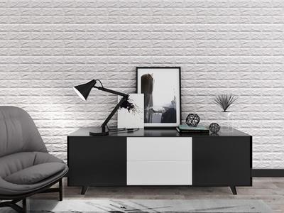 Wall brick sticker 3D effect 70x77cm