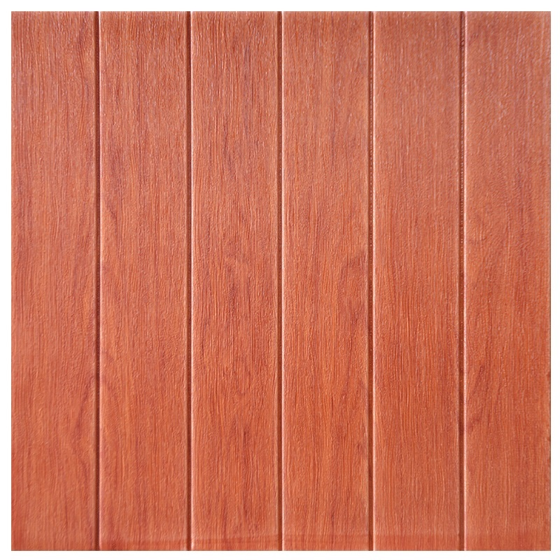 Faux wood imitation wall panel XPE foam 70x77cm