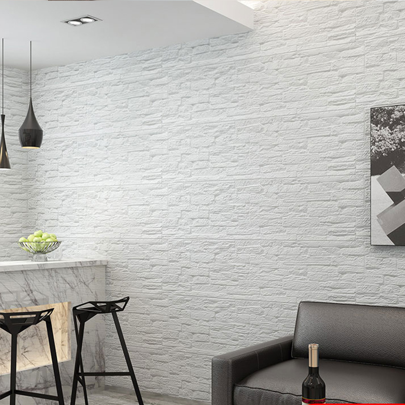 Cultural stone design brick wall panel 70x77cm