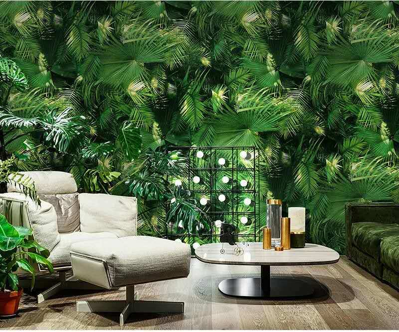 3D wallpaper PVC gluing wall decoration