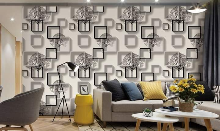 Living room background wall decoration wallsticker