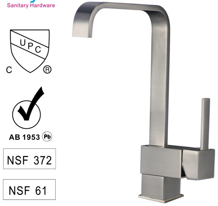 CBM modern kitchen faucets from manufacturer for flats-1