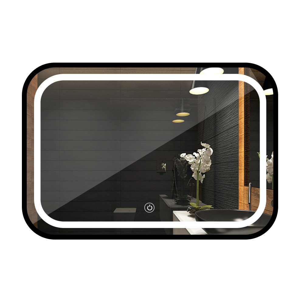 600x800x35mm smart Led Bath  mirror For  Home Bathroom vanity mirror with lights