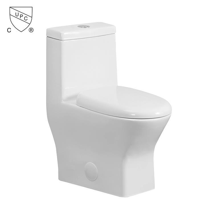 Wholesale CUPC american standard water saving sanitary porcelain s trap closestool bathroom one piece toilet bowl