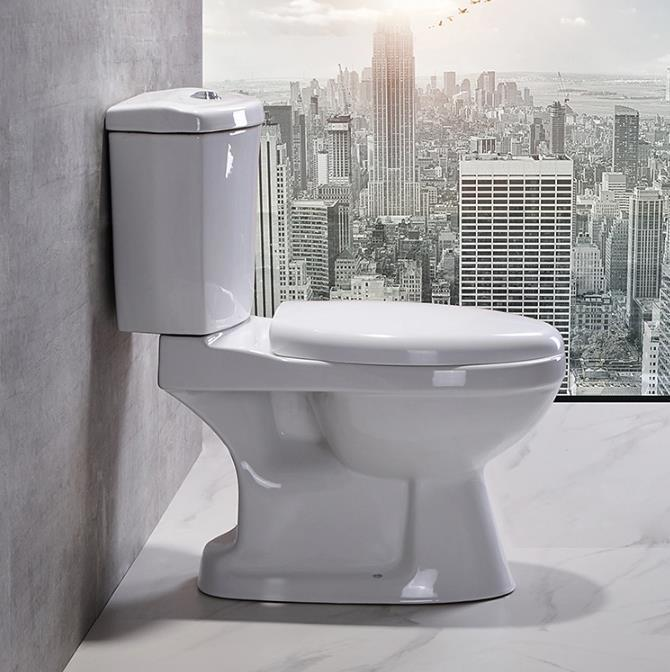Hotsale Ceramic Sanitary Ware Two Piece Toilet