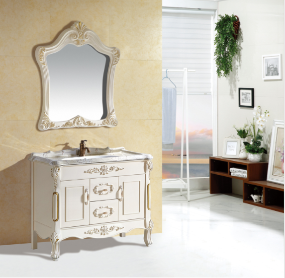 CBM Classic Floor Mounted European Style Bathroom Vanity