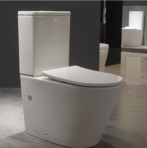 watermark ceramic one-piece toilet bathroom use simple design