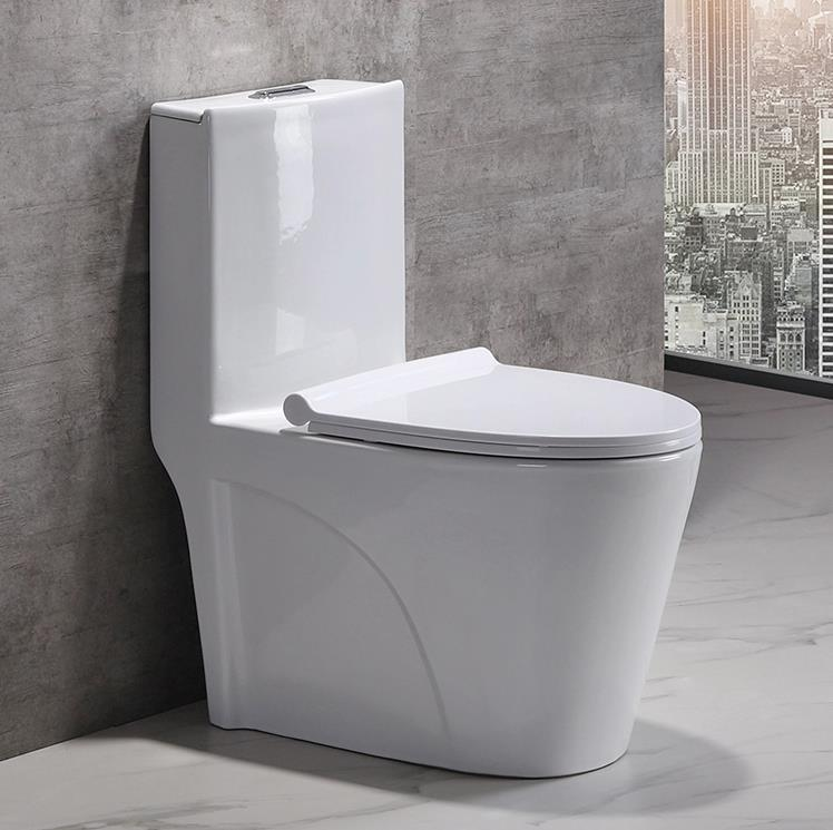 Ultimate configuration,Tube-glazing technology wc ceramic toilet