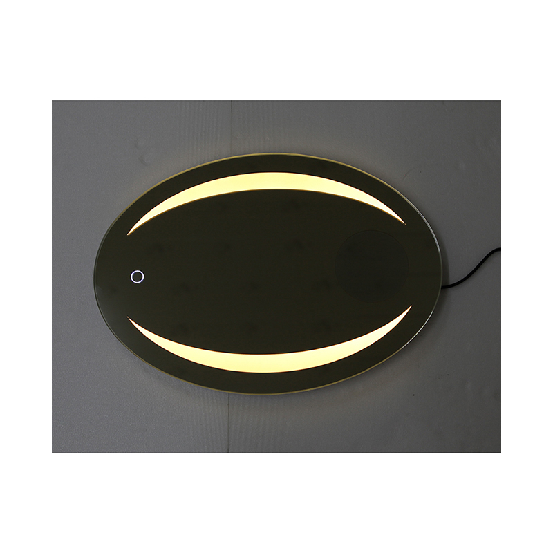 CBM Dimmable  Anti Fog 800*600 LED Bathroom Mirror/Dress Mirror with Bluetooth Speaker