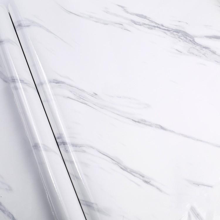 Self adhesive vinyl marble wall paper PVC
