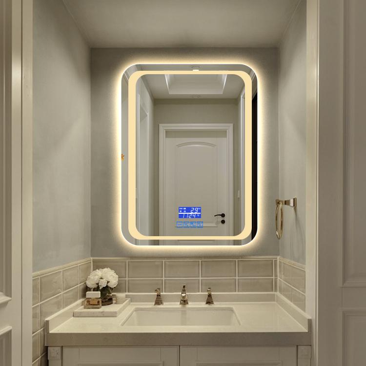 New Design Digital LED Mirror Bluetooth Speaker Mirror