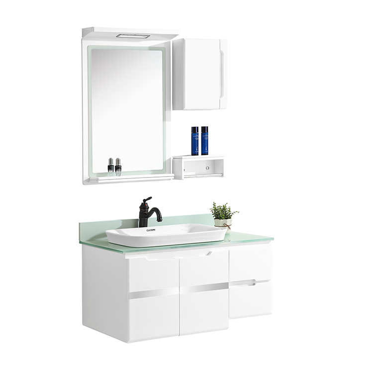 CBM saleable bathroom washbasin pvc cabinet