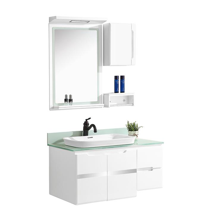 CBM saleable bathroom washbasin pvc cabinet