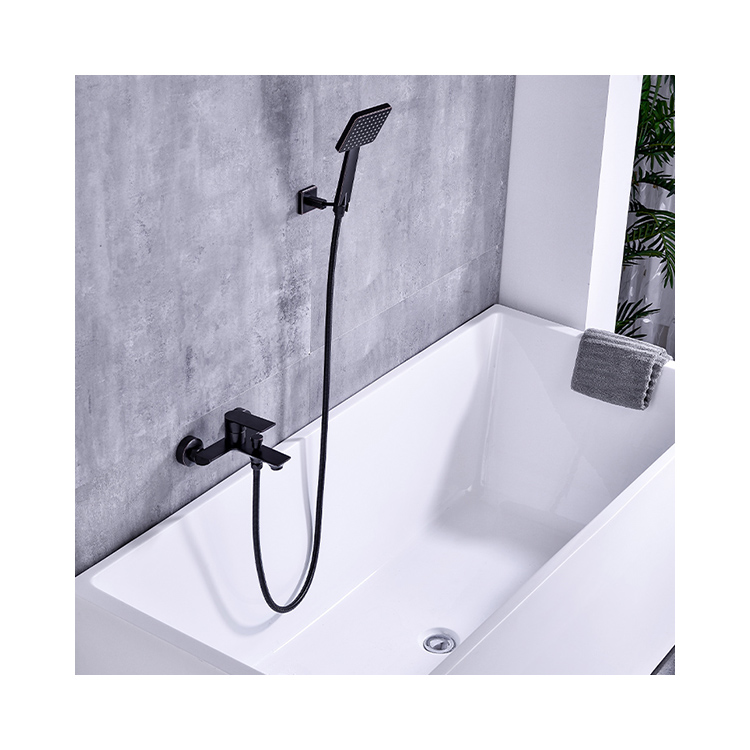 CBM new design single thermostatic bathtub faucet single handle brass black ORB bathtub faucets bathroom for house decorationg CBM-DG