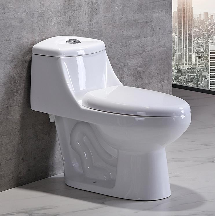 One piece ceramic inodoro toilet