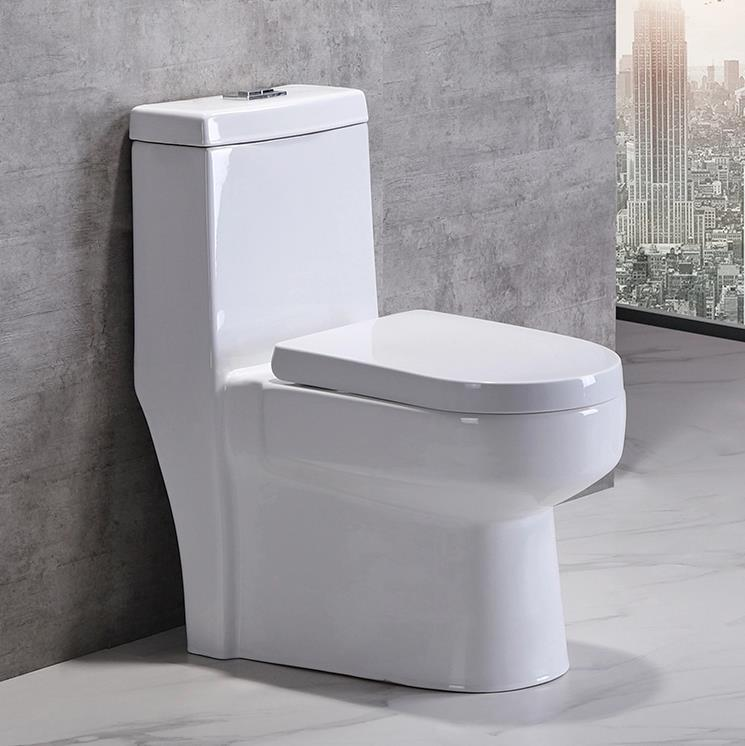 Hot sell Bathroom Floor Mounted Washdown One Piece Toilet
