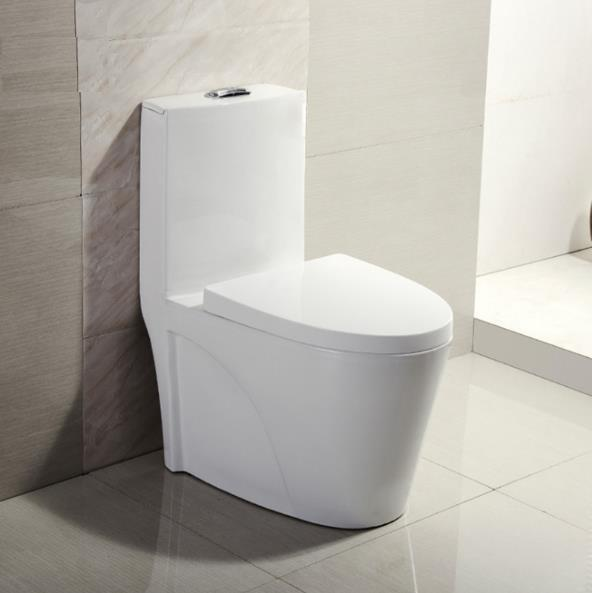 Factory New Bathroom Design Washdown One Piece Toilet/ Ceramic WC Toilet Bowl