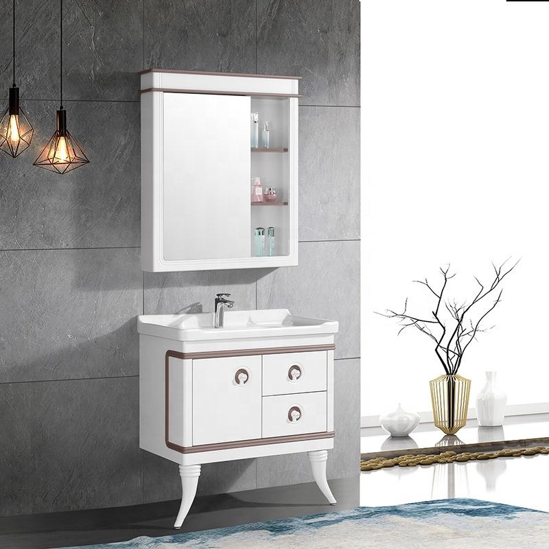 CBM Latest Design Luxury Vanity Golden Hotel Bathroom