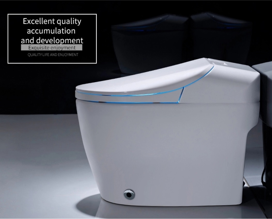 Ceramic Sanitary Ware IntellIgent WC Toilet Electric One Piece Bidet