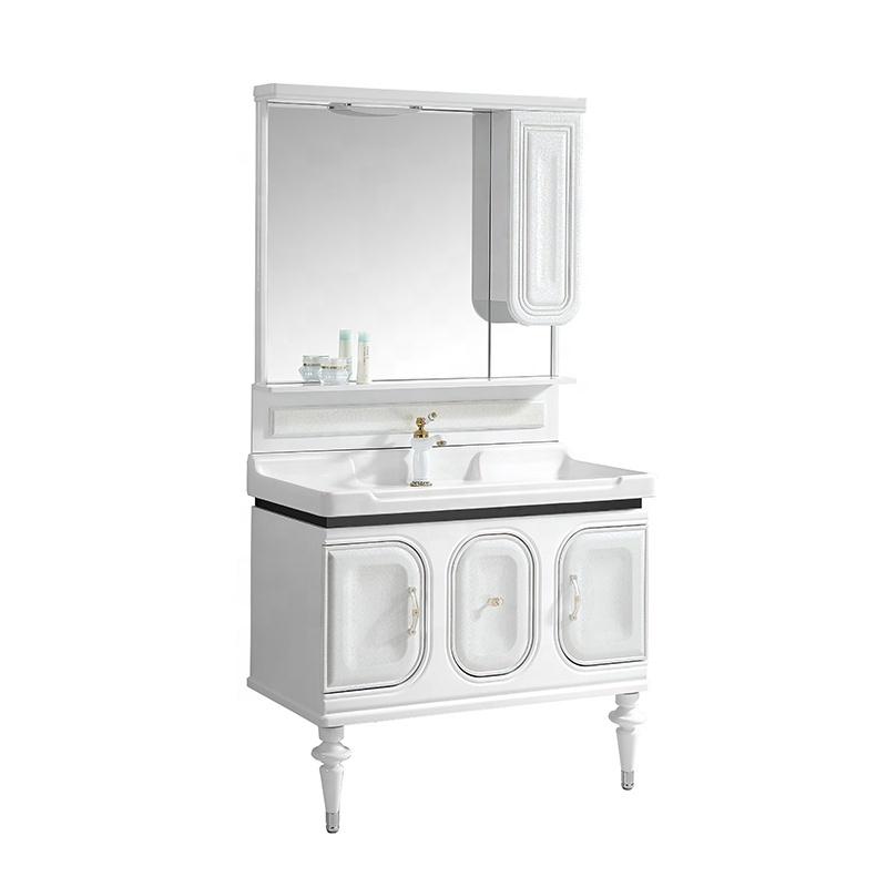 CBM new design bath furniture vanity bathroom cabinet with mirror